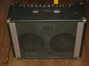 Earth Sound Research Pro Serviced 2x12 Hybrid Combo Amplifier Guitar USA Made
