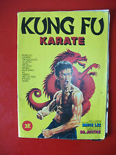1622812 Ancien album Kung Fu KARATE Bruce LEE Vignettes stickers genre PANINI