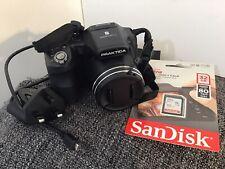 Praktica Luxmedia Z35 Bridge Digital Camera 16MP 35x Zoom Built-in Flash Black