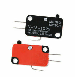 Micro Limit Switch For Omron V-15-1C25 15A 125/250VAC #E66D