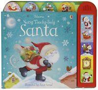 Noisy Touchy-feely Santa (Usborne Touchy-Feely Books) by Sam Taplin, NEW Book, (