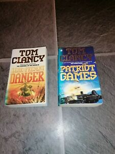 Tom Clancy reading books novels selection collection 2 paperback
