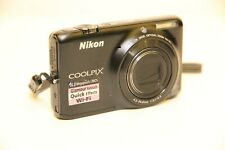 NIKON Coolpix S6500 WiFi Digital Camera 16MP CMOS 12x Wide 1080p FullHD Video 3