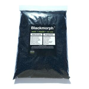 Thermoworx Blackmorph 2.2lb | Hand moldable thermoplastic polymer, DIY, Crafts