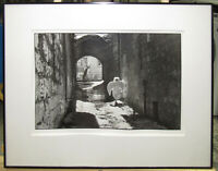"Frederic Brenner Gelatin Silver Photo ""Jerusalem"" Important French Photographer"