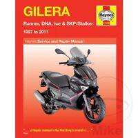 Gilera Runner 125 FX DT 2T 1999 Haynes Service Repair Manual 4163