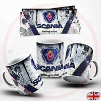 SCANIA Retro Vintage  Oil Can Mug Car Mechanic ,  Mug SCANIA