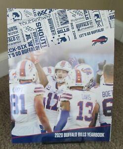 Buffalo Bills Official Yearbook 2020 2021 NFL NEW Josh Allen Stefon Diggs
