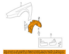 JAGUAR OEM 02-08 X-Type-Front Fender Liner Splash Shield Left C2S48126