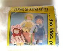 Mary Maxim Blueberry Crochet Droll Kit New