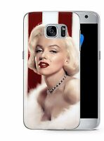 Marilyn Monroe Fashion Plastic Rubber Phone Cover Case fits Samsung Galaxy S