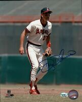 Doug DeCinces Signed 8X10 Photo Autograph California Angels Fielding Auto COA