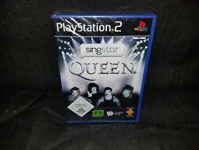 SingStar: Queen (Sony PlayStation 2, 2009, DVD-Box)
