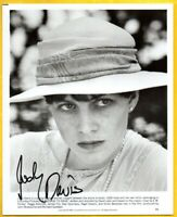 D-JUDY DAVIS Autographed B & W Photo from PASSAGE TO INDIA  W/COA