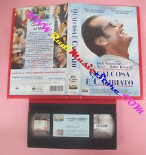 VHS film QUALCOSA E' CAMBIATO 1998 Jack Nicholson Helen Hunt 72024 (F156) no dvd