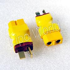 Deans T Stecker auf XT60 Buchse Hochvoltstecker Adapter Lade Kabel LiPo Akku