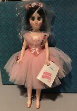 "Mint Madame Alexander Ballerina Elise Doll Brown Vintage 18"" Tall New Old Stock"
