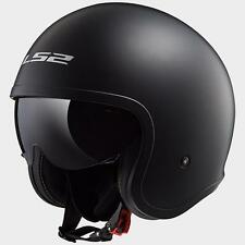 CASCO JET LS2 OF599 SPITFIRE NERO OPACO TG.XL