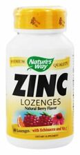 Nature's Way Zinc Lozenges w/ Echinacea & Vitamin C - 60 ct COLD & FLU RELIEF