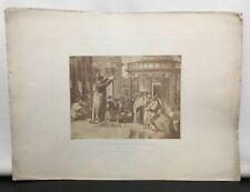 Paul Preaching at Athens Photograph of Engraving Cartoon Raffaelle Religious c18