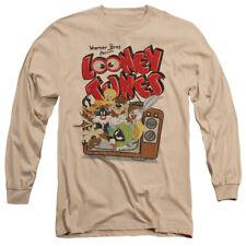 Looney Tunes Saturday Morning Licensed Adult Men's Long Sleeve Tee Shirt Sm-3Xl