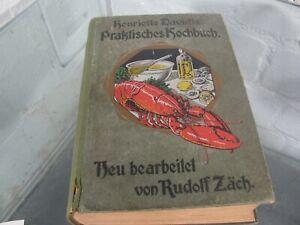 Henriette Davidis Praktisches Kochbuch 1911 (X 239)