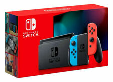 Nintendo Switch V2 Neon Joy‑Con 2019 Model w/ Extended Battery HAC-001(-01) XKW