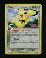 Pichu 76/110 EX Holon Phantoms Holo Delta Species Pokemon TCG