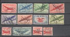 S7059 - USA 1947 - LOTTO 12 DIFFERENTI AEREA - VEDI FOTO