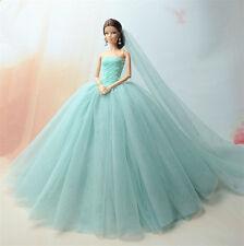 Fashion Royalty Princess Robe/Vêtements/blouse + Voile Pour Poupée Barbie S519U