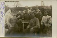 1207: AK Postkarte Feldpost Russland 1. Weltkrieg Soldatenfoto 1917