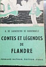 CONTES ET LEGENDES DE FLANDRE  ( NATHAN )