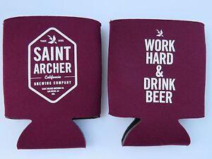 Beer Bottle Can Holder Koozie ~ SAINT ARCHER Brewing Co ~ San Diego, CALIFORNIA