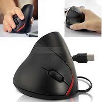 Optische USB Maus Vertikal Ergonomisch Vertical Mouse 1000DPI für Computer PC