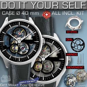DO IT YOURSELF KIT: SCALA 40 MM Ø, 50M , CASE-SKEL-DIAl-HANDS-SKEL-MOV. STP 6-15