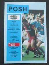 Peterborough V  Birmingham   1993/4