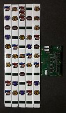 IGT S2000 Slot Machine FLAMING PEARL Reel Strips with FREE GAMES RG Board