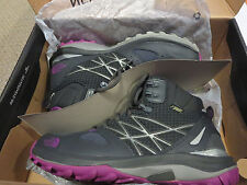 Womens New North Face Fastpack Mid GTX Hiking Shoes Size 8.5 Dark Shadow Grey