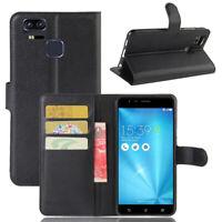 For ASUS Zenfone 3 Zoom ZE553KL Flip Wallet Case/Cover/Card Holder Pouch