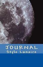 JOURNAL Style Lunaire : Un Carnet Intelligent Sous Forme de Livre Avec du...