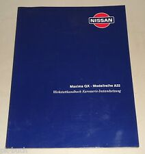 Werkstatthandbuch Karosserieinstandsetzung Nissan Maxima QX A32