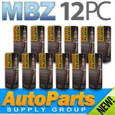 12 Genuine BOSCH Platinum Plus - Exact OEM Spark Plugs for MBZ V6 Mercedes-Benz