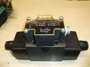 PARKER D3W20DVYC56 30 110/120 VOLTS 5000 PSI HYDRAULIC VALVE