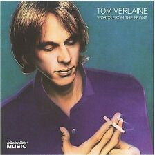 TOM VERLAINE - Words From The Front - TERRIFIC GUITAR-CENTRIC CD, ex-TELEVISION