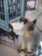 Akita Gray Dog Wine Stopper