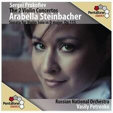 Sergei Prokofiev: The 2 Violin Concertos Super Audio Hybrid CD (CD, Sep-2012,...