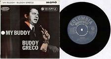 "BUDDY GRECO ~ MY BUDDY ~ 1960 UK 4-TRACK MONO 7"" EP SINGLE ~ COLUMBIA SEG 8192"