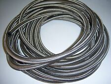 "6AN 3/8"" STAINLESS STEEL BRAIDED HOSE PER FOOT"