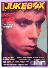 JUKEBOX n°167; Iggy Pop/ Dick Rivers/ Joe Cocker/ John Mayall/ RAdio Birdman