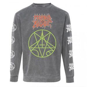 Morbid Angel 'Logo' Crew Neck Sweatshirt - NEW